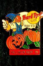 HRC Hard Rock Cafe Tokyo Halloween 1996 Pumpkin Field LE