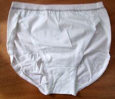 sloggi Size 16 Basic Diamond High Leg Tai Knickers Panties Briefs White