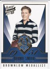 2015 Select Honours 2 Brownlow Gallery Card - Bernie Smith, Geelong