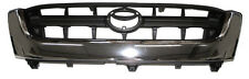 Rejilla de Radiador Frontal Cromado Y Negro Para Toyota Hilux MK5 KDN165 2.5TD 01-05 4WD