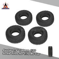"""4Pcs Austar 1.9"""" 100mm 1/10 Tires for RC4WD D90 Axial SCX10 RC Rock Crawler"""