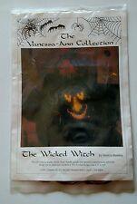 Wicked Witch Halloween Cross Stitch Kit for Sweatshirt Vanessa Ann Collection