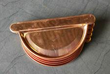 Kupfer Rinnenboden Uniboden Steckboden Kopfstück 5-10tlg.Dachrinne