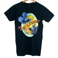 The Simpsons Itchy & Scratchy Show Mens T-Shirt Size XS Black 2012