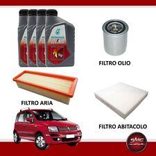 KIT TAGLIANDO FIAT PANDA (169) 1.2 44KW 60CV DAL 2003 + 4LT OLIO SELENIA K 5W40