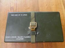 Boite de lampes radio de rechange GB WW2