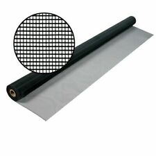 Aluminum Bug Screening 48 in. X 25 ft. Charcoal Insect Window Door Wire Screen