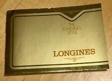 Caja de herramientas de 1960s Piezas Vintage LONGINES almirante Lindbergh Cronógrafo 13ZN OEM
