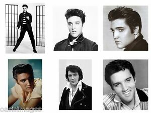 ELVIS PRESLEY photoprint,iron on transfer or sticker,12 choices of picture A4/A5