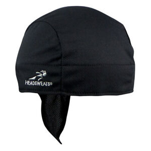 Headsweats Shorty Coolmax Clothing Bandana H/s Bk 14