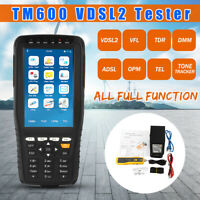 TM 600 All-in-One VDSL2 Tester TDR/ADSL/TEL/OPM/VFL Function Tone Wire Tracker