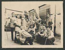 orig. Foto Studentenverbindung Rhenania Jena Mensur Gasthof Zur Weintraube 1929