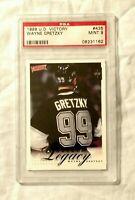 1999-00 Upper Deck Victory Wayne Gretzky #435 Hockey Card PSA 9 Mint Pop 1