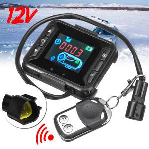 12V LCD Digital Monitor Air Diesel Heater Parking Controller Switch Car Truck