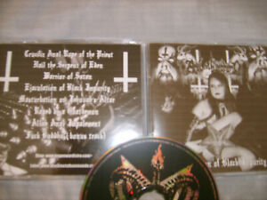 BLASPHEMY Of Black Impurity CD Finnish Black Death (archgoat mitochondrion)