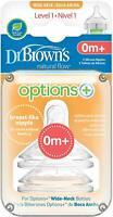 Dr Brown's Options+ Level 1 Teats - 2019 Design