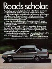 1985 VOLKSWAGEN Jetta Vintage Car Photo AD original advertising