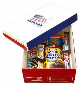AMERICAN BOX SCATOLA AMERICANA MISTERIOSA CANDY SNACK SORPRESA SALTY E/O SWEETY