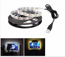 1.5 M USB 2.0 Powered 5 V RGB LED luz de tira de luz de fondo de hadas de control remoto TV PC