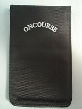 On Course Deluxe Scorecard/Yardage Book Holder (Black) New
