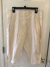 BOTTEGA VENETA Womens Casual Tan cream Cotton Short Cargo Pants Sz.38
