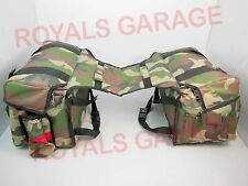 SIDE HANGING SADDLE THROW ON TOURING BAG FOR ROYAL BIKES  KTM CAMOUFLAGE 100