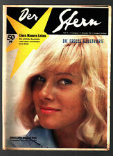 Stern Nr. 49 7.12.1957 May Britt (Cover), Coca Cola, Phillips
