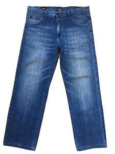 Von Dutch size 36 Regular Fit Straight Leg Distress Blue Denim Jeans 100% cotton