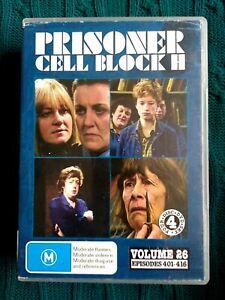 PRISONER CELL BLOCK H – VOLUME 26 – DVD, 4-DISC SET- R-ALL- VERY GOOD FREE POST