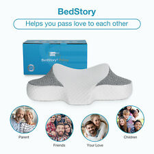Memory Foam Pillow Contour Pillow for Neck Pain Support Slow Rebound Cervical