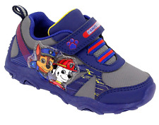 PAW Patrol Light Up Sneakers Toddler Boys shoes size 11  navy New