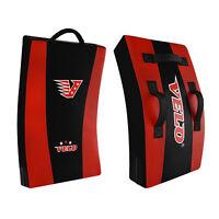 VELO Kick Shield Pad Strike mma Punch Bag Curved Training Martial Arts
