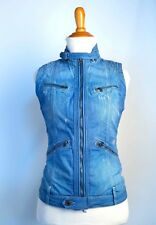 Women's G-Star Raw size Small 5620 Sleeveless Jacket Blue Denim Excellent