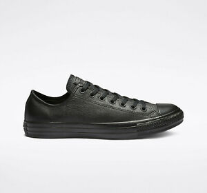 Converse Chuck Taylor All Star Mono Leather Comfort Shoes Black