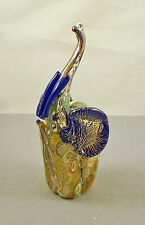 NEW & STICKER MURANO MILLEFIORI ELEPHANT FIGURINE iTALIAN ART GLASS MADE ITALY