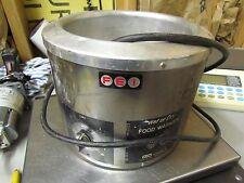 Nice Stainless F E I Dual Wet or Dry Food Warmer Works Well