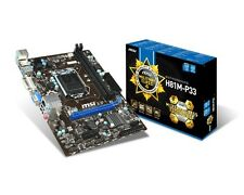 MSI H81M-P33 Motherboard CPU i3 i5 i7 LGA1150 Intel H81 DDR3 SATA3 USB3 DVI VGA