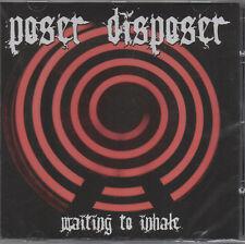 poseur broyeur - Waiting à inspirez CD - NEUF / scellé (2005) GRINDCORE Punk
