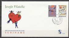 SURINAME FDC E-249 JEUGDFILATELIE 25.APRIL.2001