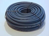 25m Rolle Lautsprecher Kabel Boxen Kabel 25m Rolle 2x 2,5qmm blaugrau