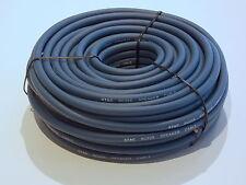 25m Rolle Lautsprecher Kabel PA Kabel 25m Rolle 2 x 2,5 qmm blaugrau twinax