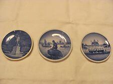 Bing & Grondahl Porcelain minature plates