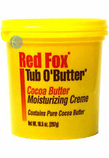 Red Fox tube O'Mangue beurre de cacao Hydratante Crème 298ml/298g