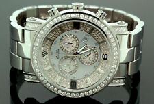Mens Aqua Master Diamond Watch 3.60 ct w-104c