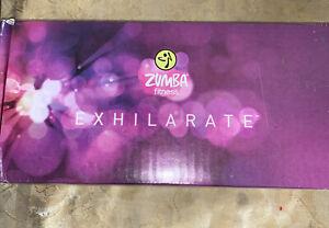Zumba Fitness Exhilarate Body Shaping System ~ 5 DVDs Toning Sticks & Program