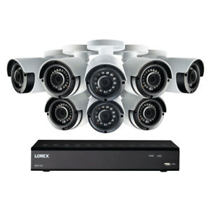 Lorex Corp. LHA21081TC8LC 1080p Hd 8 Channel Dvr Security System With 8 1080p