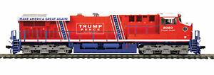 Spur H0 - MTH Diesellok GE ES44AC Donald J. Trump mit Sound - 8024151 NEU