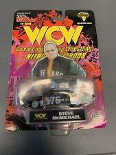 Steve Mongo McMichael Vintage WCW Nitro Streetrods 1/64 Diecast Car NIB New 1998