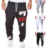 Men Harem Pants Trousers Sweatpants Slacks Casual Jogger Dance Sportwear Baggy