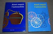 AINSI NAQUIT L'AUTOMOBILE COFFRET 2 LIVRES 1961 J. ICKX